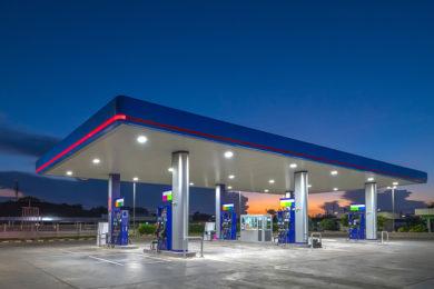 Forniture per distributori stradali e depositi commerciali
